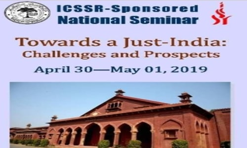 Call For Papers: Seminar On Just-India At Aligarh Muslim University
