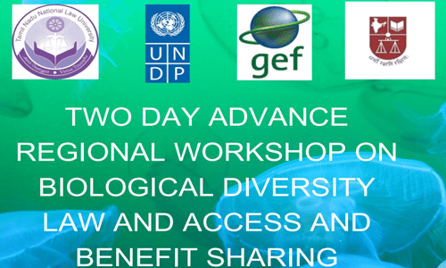 TNNLU and NLS Two-Day Advance Regional Workshop On Biological Diversity [May 11-12]