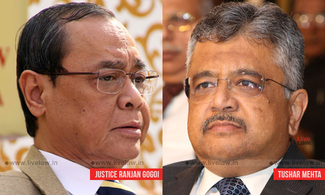 """""""Satisfy Us That This Man Has A Role To Play"""": CJI To SG [Courtroom Exchange In WB Chit fund Case]"""