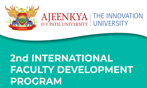 Call For Paper: 2nd FDP On Environmental Law In Globalised World Program At Ajeenkya D Y Patil University