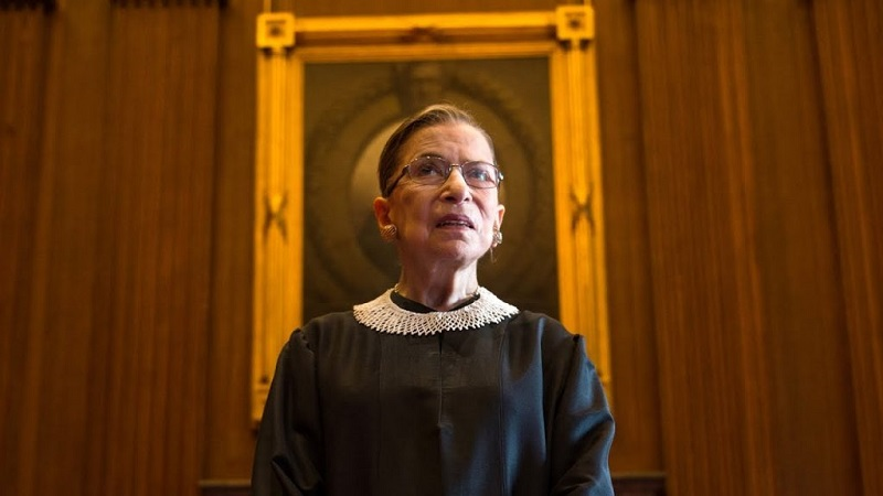 US Supreme Court Judge Justice Ruth Bader Ginsburg, Champion Of Gender Equality, Dies