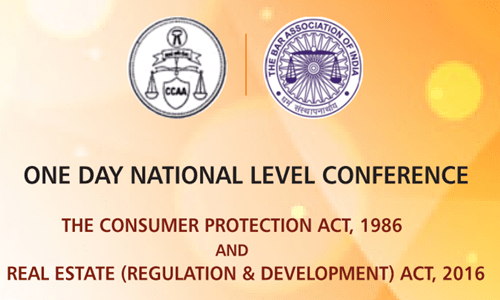 One Day National Level Conference By Consumer Courts Advocates Association