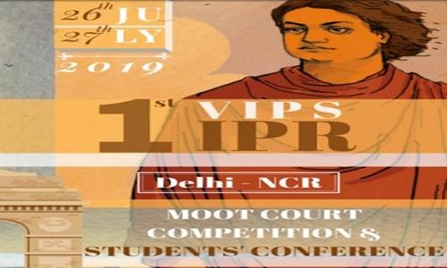 IPR Delhi-NCR Moot Competition At Vivekananda Institute Of Professional Studies, Delhi