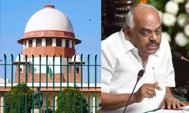 Karnataka Crisis : SC Orders Status Quo On Resignations Of 10 MLAs And Disqualification Process Against Them