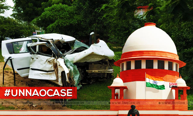 Unnao Case : SC Grants 2 Weeks Extension To CBI For Completing Road Crash Probe; Injured Lawyer To Get Rs 5 Lakh Compensation