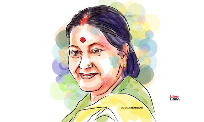 Supreme Court Bar Association Mourns The Demise Of Advocate Sushma Swaraj