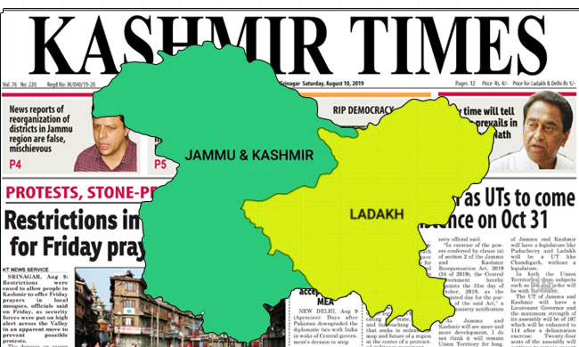 Kashmir Times Editor Moves SC Against Curbs On Media Freedom In The Valley [Read Petition]
