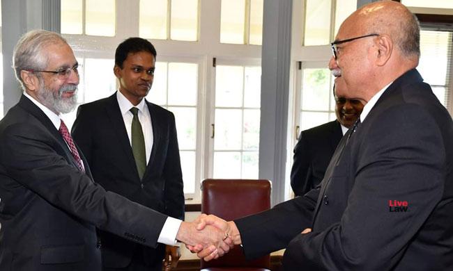 Justice Madan B Lokur Sworn In As Judge Of Supreme Court Of Fiji
