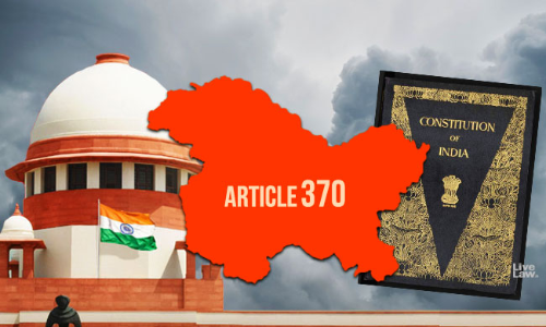 Judicial History of Article 370: SC Rulings On Jammu & Kashmir Special Status