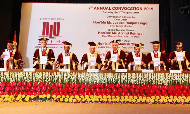 Why Law Graduates Natural Choice Is Not Legal Profession?: Asks CJI at NLU Delhi Convocation