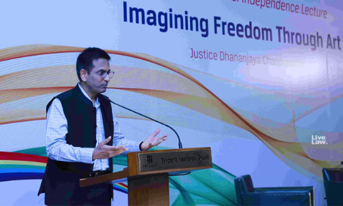 Suppression Of Art By State Is Disturbing : Justice Chandrachud