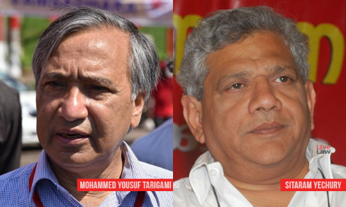 Breaking : SC Allows Sitaram Yechury To Travel To Kashmir To Meet CPI(M) Leader Tarigami [Read Order]