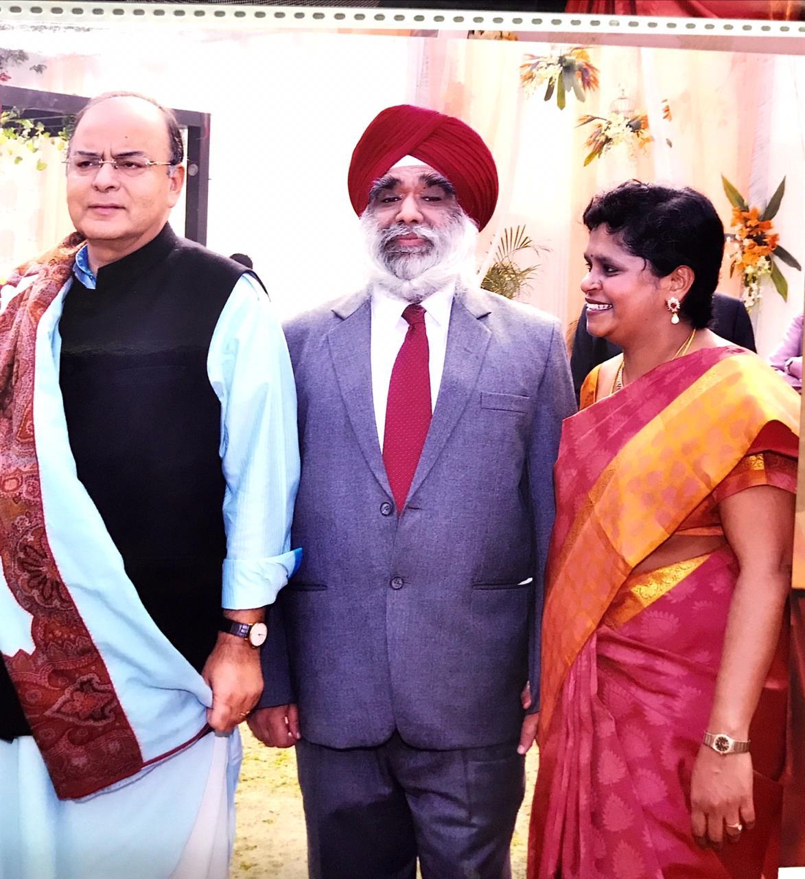 Justice Pratibha Singh with Jaitley