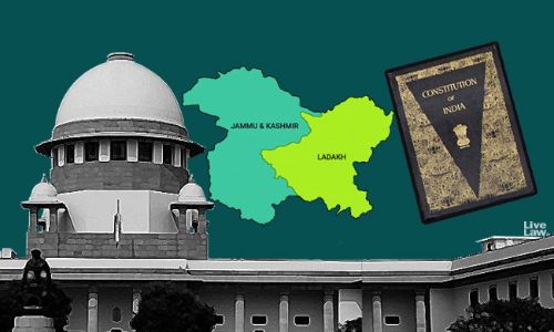 J&K Petitions : When SC Feels Unburdened By The Constitution