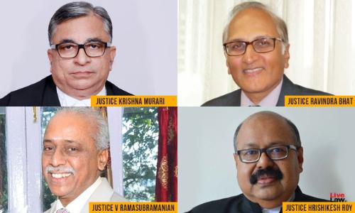 SC At Highest Strength Ever: Justices Krishan Murari, Ravindra Bhat, Ramasubramanian & Hrishikesh Roy Sworn In
