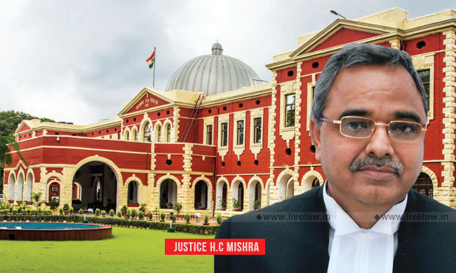 Justice Harish Chandra Mishra Appointed As Acting CJ of Jharkhand HC