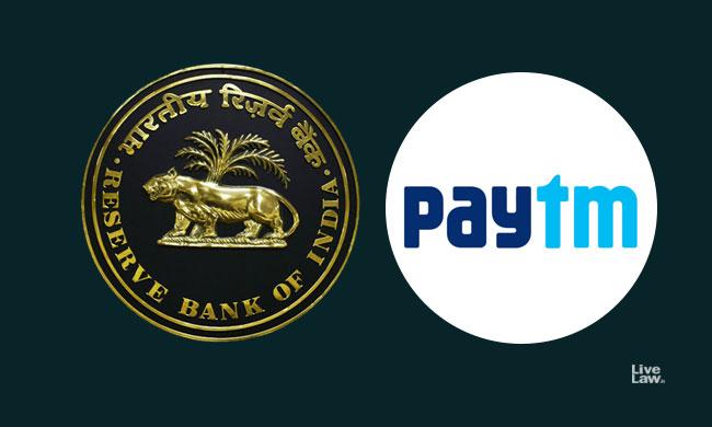 RBI Opposes PIL Against Paytm