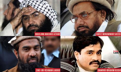 Masood Azhar, Hafiz Saeed, Zaki Lakhvi And Dawood Ibrahim Notified As Terrorists Under The New UAPA [Read Notification]