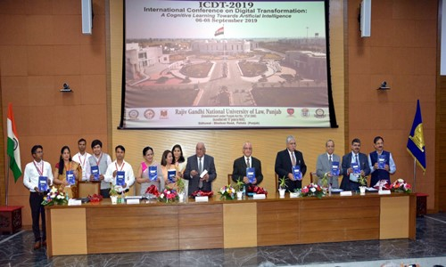 International Conference On Digital Transformation (ICDT) 2019 Commences At RGNUL