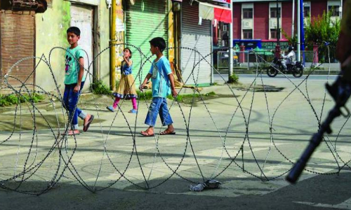 Jammu And Kashmir Police Has Violated The JJ Act In Detaining Children