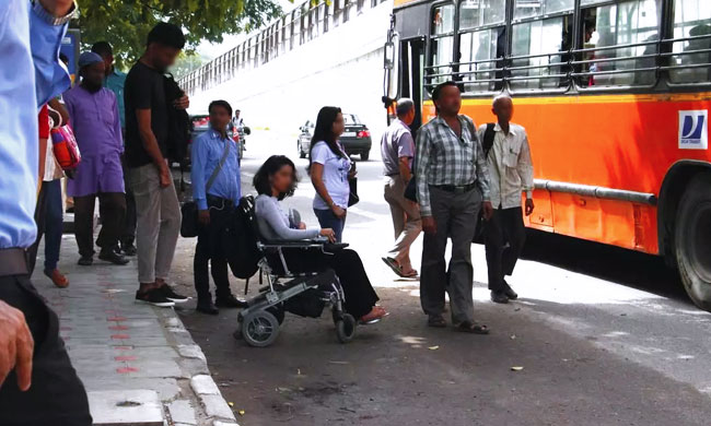 Delhi HC Issues Notice On Plea For Construction Of Assistive Pathways For Specially Abled Persons [Read Petition]