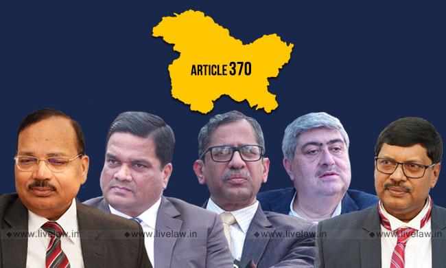 [Article 370 : J&K Special Status] SC To Pronounce Judgment On Reference To Larger Bench On Monday