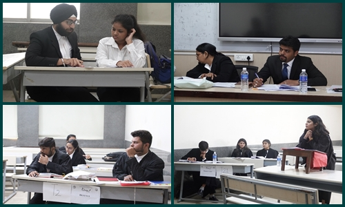 10th Edition Of The National Trial Advocacy and Judgment Writing Competition, Nyayavalokan Prelims Held Today