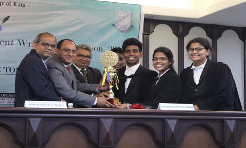 10th Edition Of The National Trial Advocacy And Judgment Writing Competition- Nyayavalokan 2019 Concludes