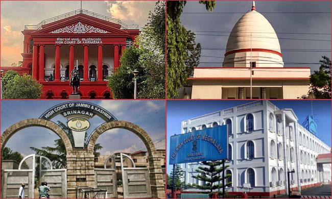 SC Collegium Recommends Appointment Of Judges At HCs Of Karnataka, Gauhati, J&K & Meghalaya
