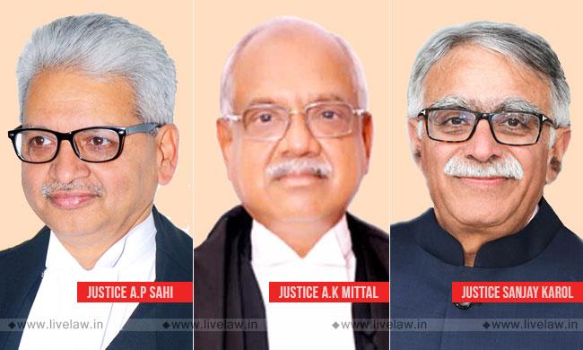 Centre Notifies Transfers Of Chief Justices Of Patna, Meghalaya & Tripura HCs