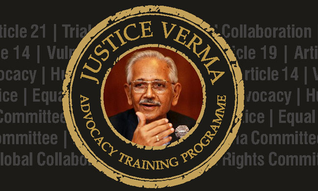 Applications Invited For Justice J. S. Verma Human Rights Advocacy Training & Mock Trial On Rolling Basis