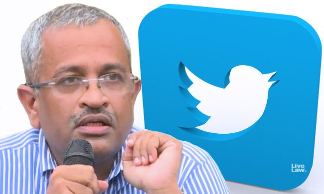 Sr Adv Sanjay Hegde Serves Legal Notice On Twitter For Restoration Of Account; Seeks Intervention Of Centre [Read Notice]