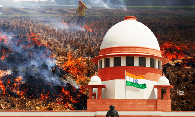 Stubble Burning - To Punish Farmers Is Not The Solution; Provide Them Basic Amenities : SC [Read Order]