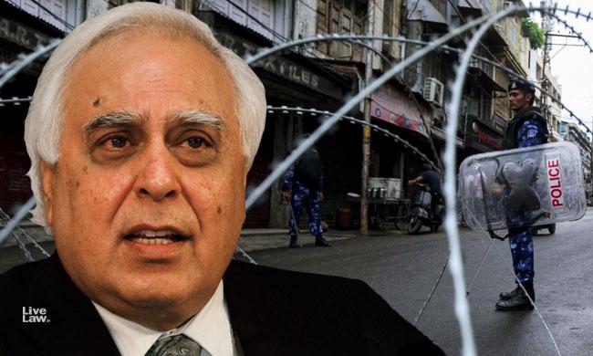 Kashmir : Why Block Internet As A Whole To Control Social Media, Asks Sibal