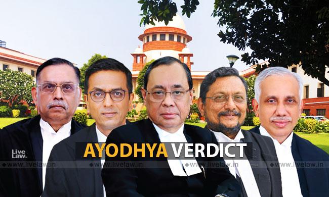 Breaking: Ayodhya Verdict- Key Observations In SC Judgment [Read Judgment]