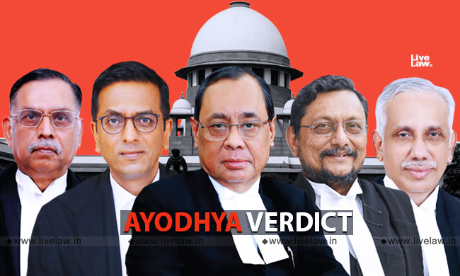 Ayodhya Judgment Rewards Illegal Acts : Muslim Parties Seek Review Of Verdict Allowing Temple In Disputed Site [Read Petition]