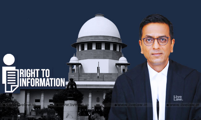 Judges Are Not Above Law; Judicial Appointment Process Must Be Made Transparent, Says Justice Chandrachud [Read Judgment]