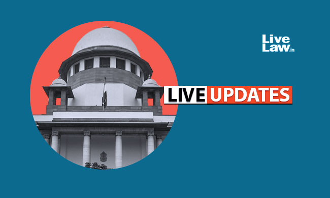 LIVE UPDATES From SC [Can Persons Holding Public Office Comment On Crimes ?]