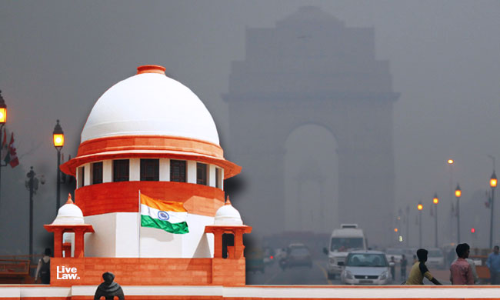 Air Pollution : SC Pulls Up The Centre Over The Worsening Air Quality In Delhi-NCR And Other Northern Regions