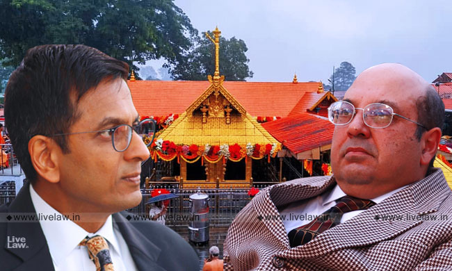 [Sabarimala] Remember That The Holy Book Is The Constitution Of India; Justices RF Nariman & DY Chandrachud Dissent