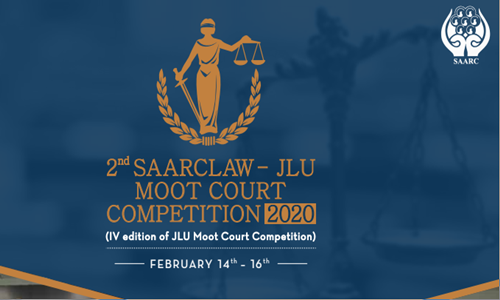 2nd SAARCLAW-JLU Moot Court Competition 2020