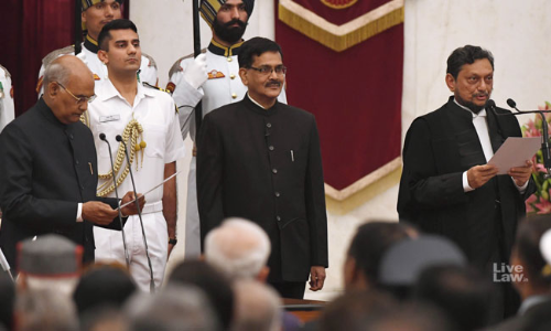 Breaking: Justice S A Bobde Sworn In As The 47th Chief Justice Of India