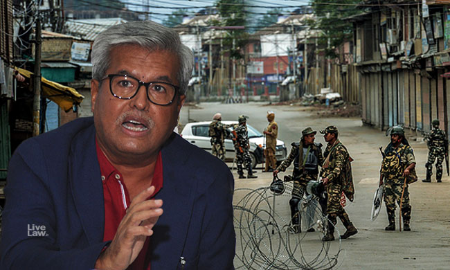 Kashmir : Internet Shutdown For Over 100 Days A Violation Of Right To Life, Submits Dushyant Dave [Read Written Submissions]