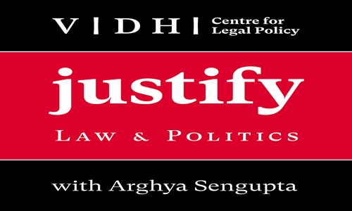 """Justify - Law and Politics in India"", Vidhi Launches Podcast On Latest Legal Developments In India"