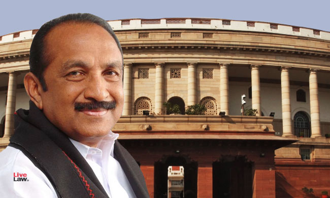 Vaiko Moves Resolution To Restore Subjects Transferred From State List To Concurrent List Of Constitution