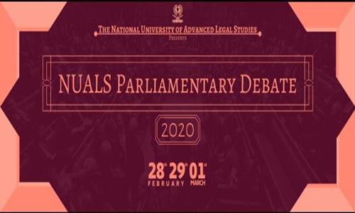 NUALS Parliamentary Debate 2020
