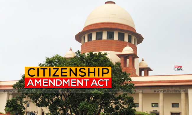 SC Issues Notice On Centres Application To Transfer Anti-CAA Pleas From High Courts