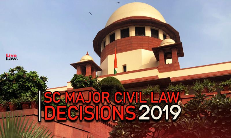 40 Supreme Court Civil Law Judgments Of 2019