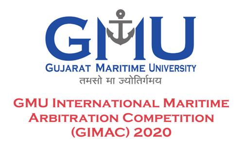 GMU To Organise GMU International Maritime Arbitration Competition 2020 [6th-8th Mar; Gandhinagar]