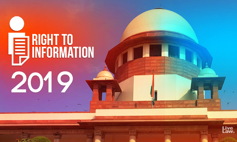 The 2019, An Anti-RTI Year!